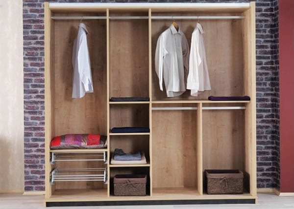 contemporary bedroom storage solutions