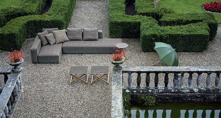 revolutionary outdoor sofa system by RODA