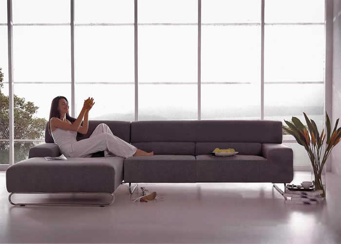 10 stylish and cool sectional couches for small spaces - Couches for small apartments ...