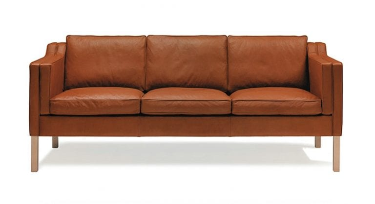 Eva leather sofa by Stouby