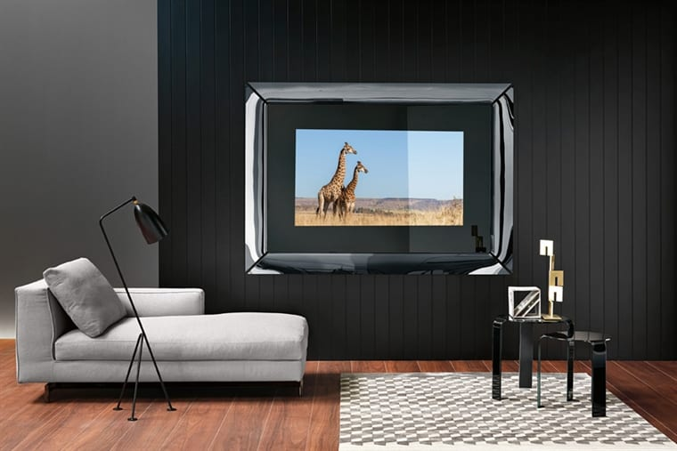 Mirror with built in TV
