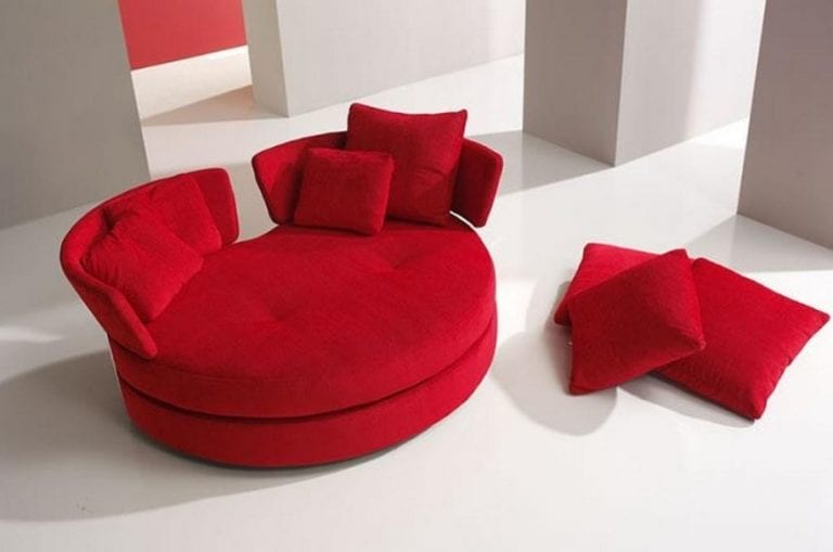 unique couch strange red round modern interior design sofa 11 cool apartment size ideas and designs
