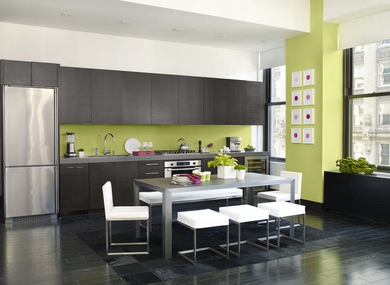 12 New and Modern Kitchen Color Ideas with Pictures 17