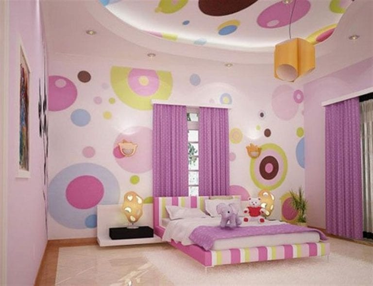 Pink Girl Room Decorating Ideas