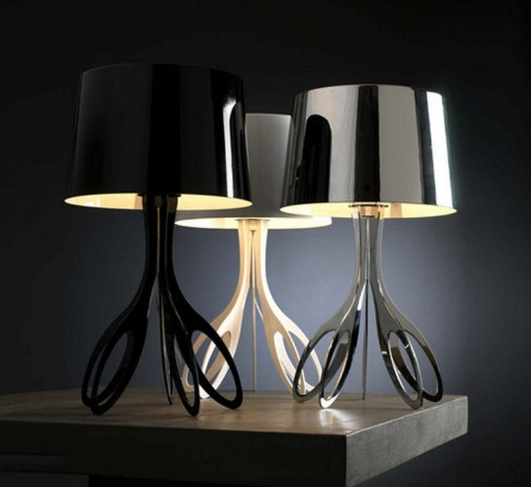 cool and modern table lamp design
