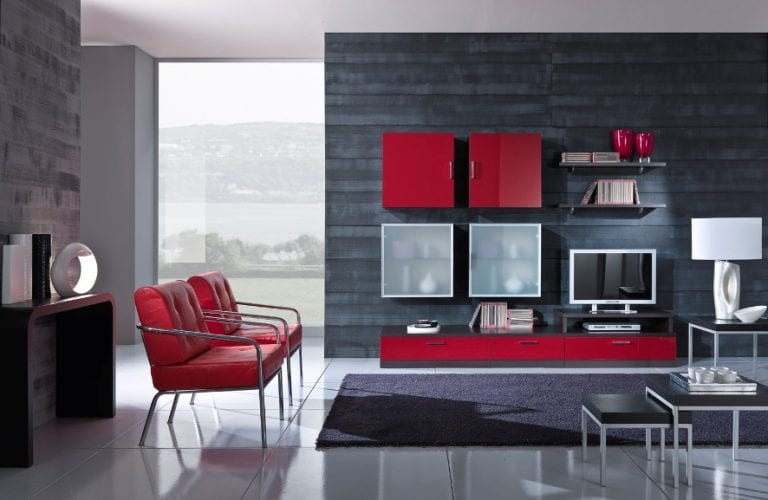 storage wall unit for tv