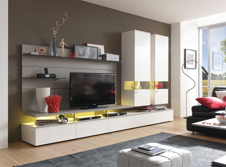 super modern entertainment wall