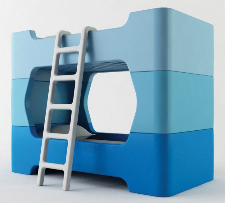 ultra modern bunk beds with stairs