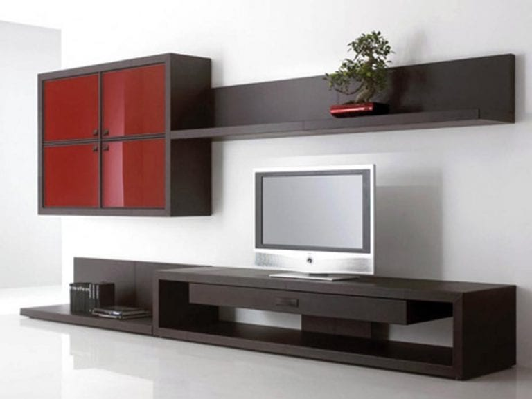 ultra modern tv wall
