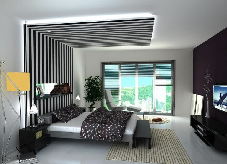 modern bedroom furnishings