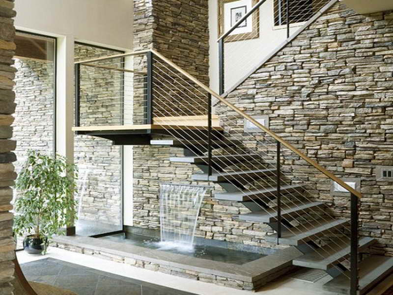 10 Exquisite Indoor Water Feature Ideas and Photos 22