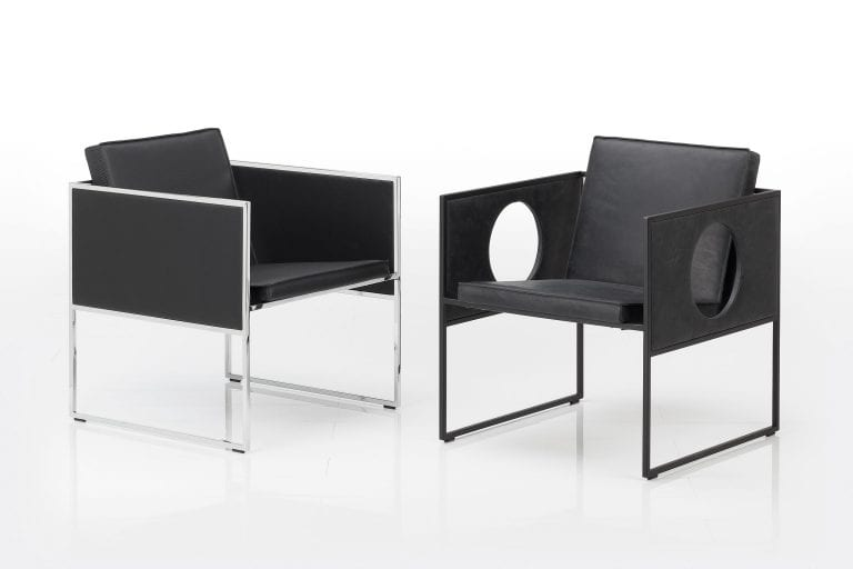 bruehl leather chairs collection