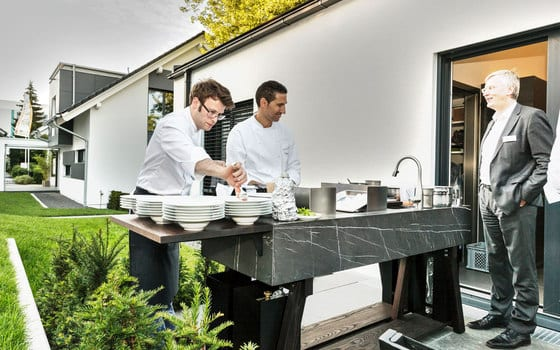 Outdoor Kitchen by Michael Schmidt