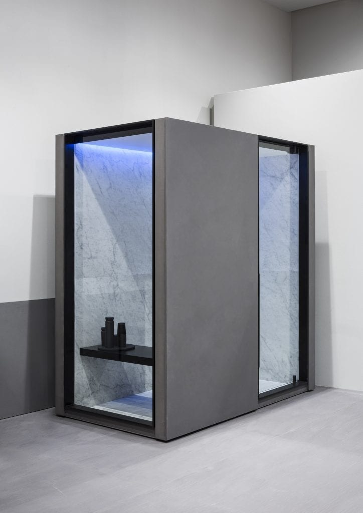 steam bath-shower design