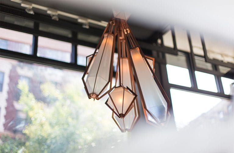 The Hand Made Harlow Lighting Collection from Gabriel Scott