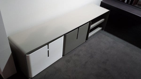 contemporary sideboard with storage