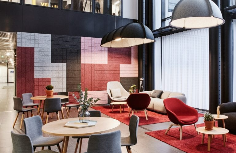 The Innovative Baux Acoustic Tiles and Wall Panels