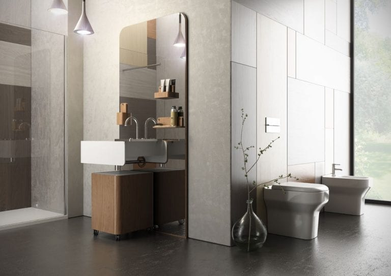 Beauty, Practical Bathroom Collection from Olympia Ceramica