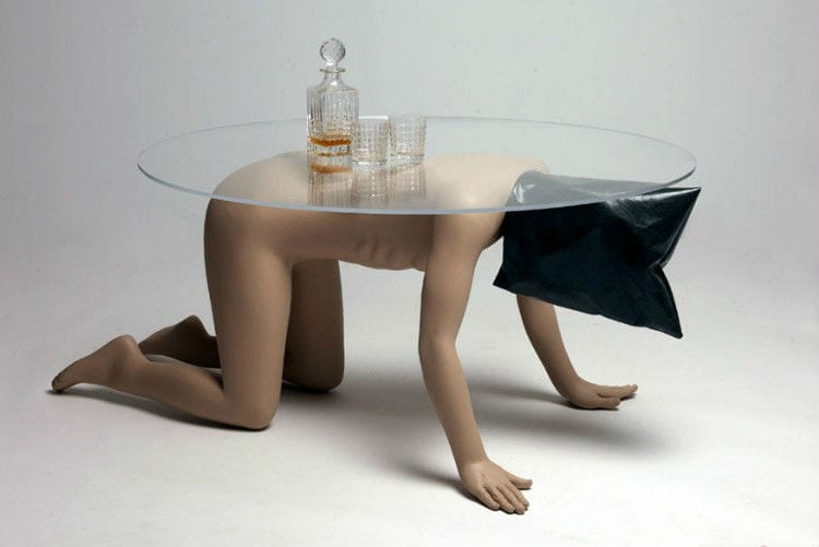 Spine-Chilling furniture
