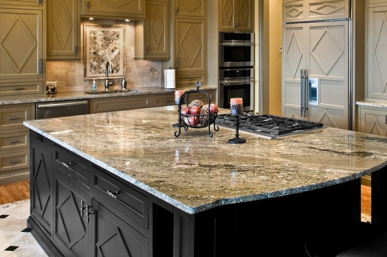 amazing stone kitchen countertop - Kitchen Countertop Ideas