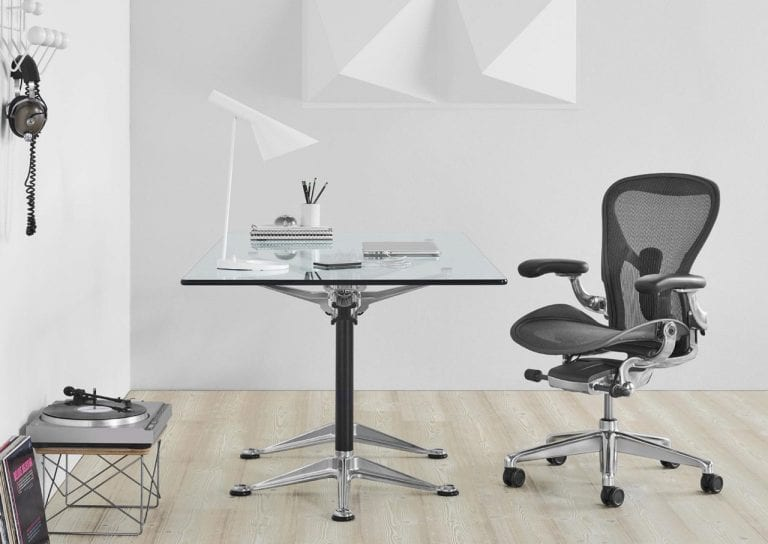 Herman Miller Chair and Desk