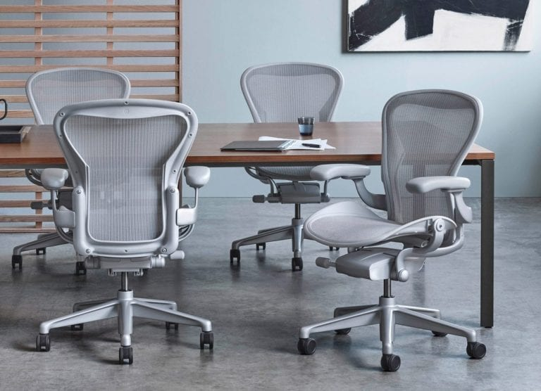 Herman Miller Chair in Office Suite