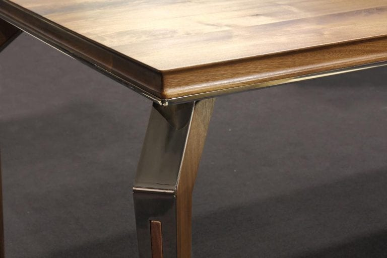 Dyle Bespoke Dining Table Italian Steel