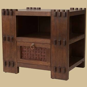 Mahogany Asian Night Stands by Tansu.net 5