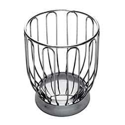 Alessi fruit basket stainless steel