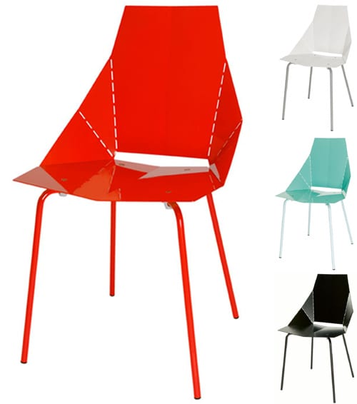 Blue Dot Metal Origami: Really Good Chair 5
