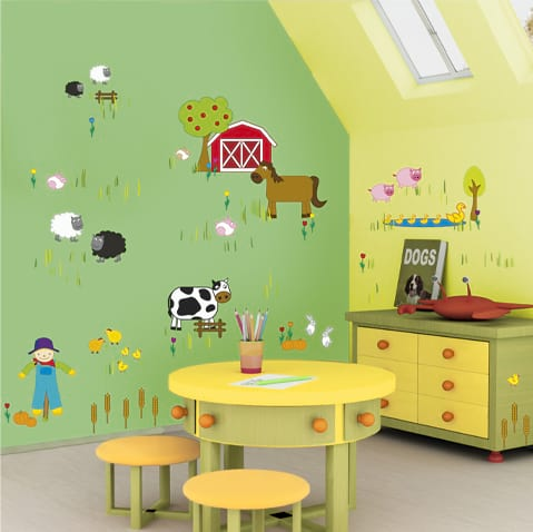 Childrens Room Wall Stickers