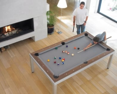 Combination Pool and Dining Table