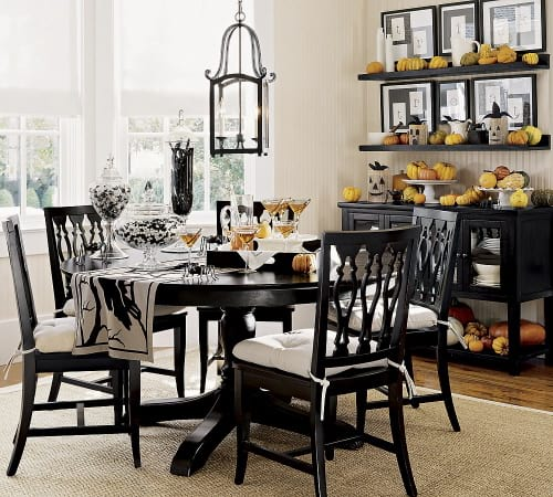 Fall Decor for Dining Room