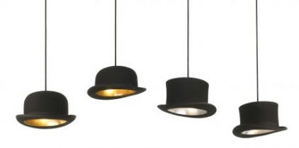 Hat Pendant Lights by Jake Phipps