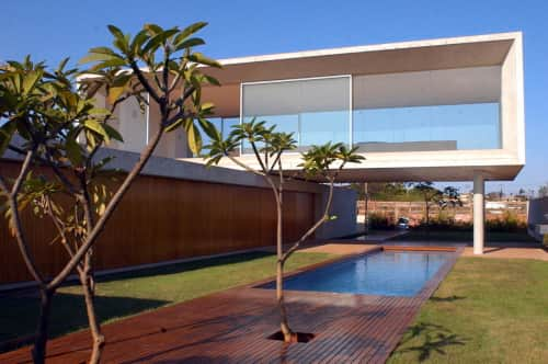House Design Plans with Pool
