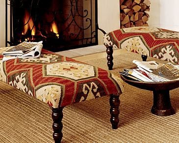 Kilim Bench by Pottery Barn Furniture