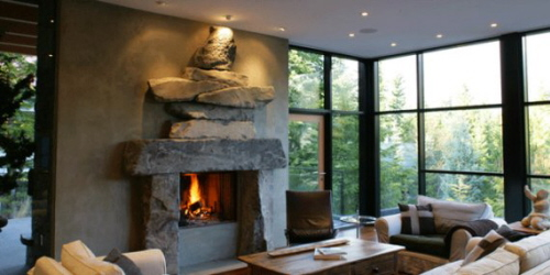 Mountain Home Fireplace