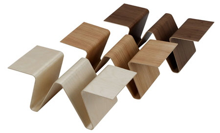 Papermaster Magazine Racks from Swedese Mobler