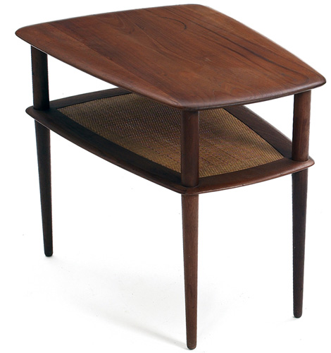 Peter Hvidt and Orla Molgaard-Nielsen teak occasional table