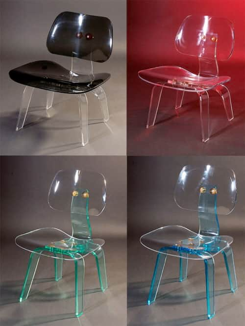 Plexiglass Dining Chairs
