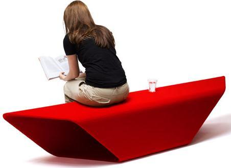 Red Contemporary Sitting Bench.jpg