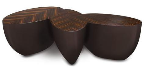 Sizzle Coffee Table from Wendell Castle