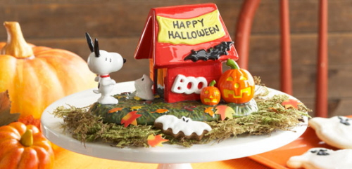 Snoopys Haunted House Department 56 Collectibles
