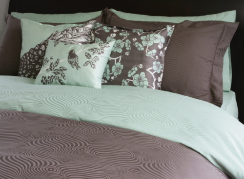 Peacock Bedding Set in Popular Spring Colors