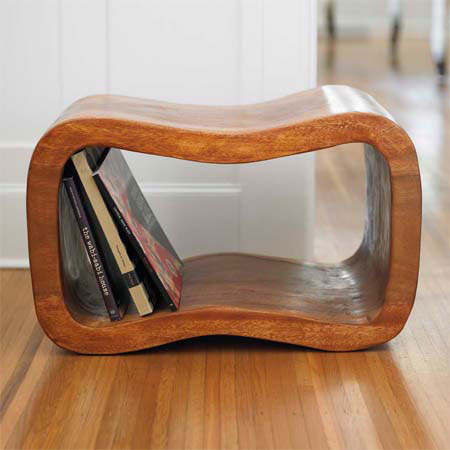 Wave Stool Simple Living Furniture