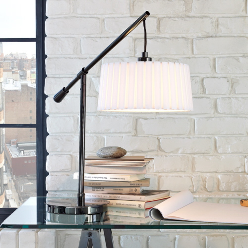 West Elm Pleated Table Lamp