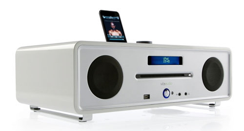 White Home Stereo