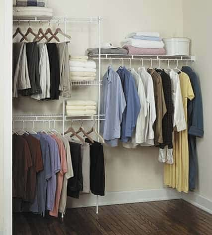 Affordable Rubbermaid Closet Organizer Solution