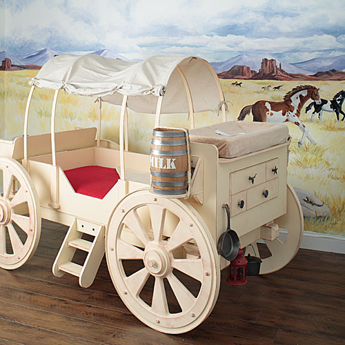 chuck wagon bed for boys room