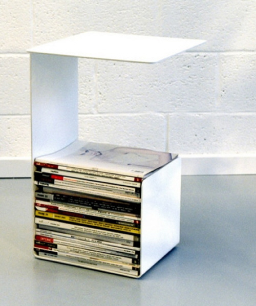 small table magazine holder